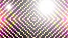 Different Led light virtual studio art 30 Stock Footage