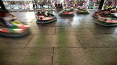 Bumper cars Stock Footage