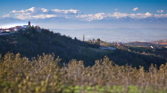 Langhe e Roero landscape 01 Stock Footage
