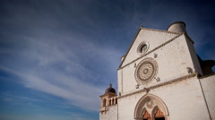 Basilica of St. Francis of Assisi Stock Footage