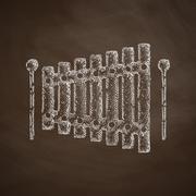 Xylophone icon Piirros