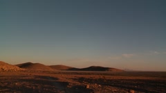 Altiplano, Andes, Bolivia in the early morning - stock footage