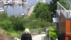 Port Friday, Condominiums Stock Footage