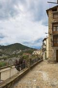 Stock Photo of medieval village of catalonia, spain