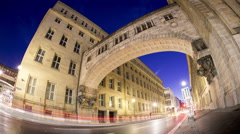 Berlin from night to day Stock Footage