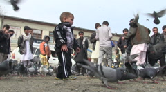 Kabul downtown the old city Afghanistan Stock Footage