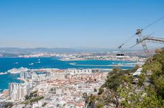 View of Gibraltar Stock Photos