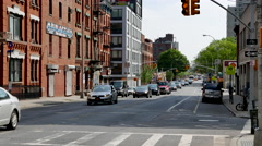 Boerum Hill 3rd and Avenue. - stock footage