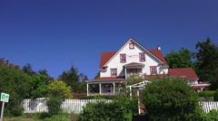 Orcas Island, Orcas Island Inn Stock Footage