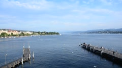 ZUERICH LAKE Stock Footage