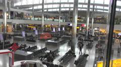 New Heathrow terminal 2 Stock Footage