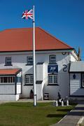 Stock Photo of Falkland Islands Police Station