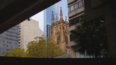 Sydney different styles of Architecture 4K Stock Footage