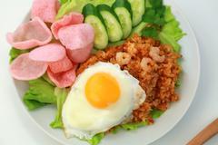 Nasi goreng - stock photo