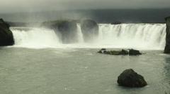 GODAFOSS, ICELAND  Stock Footage