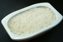 Retort Cooked Rice Stock Photos