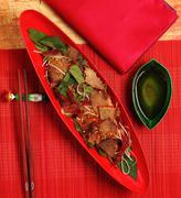 beef salad vietnam - stock photo