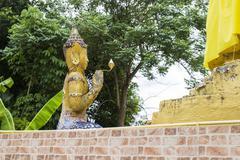 Asian angel statue Stock Photos