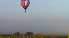 Hot-air balloon flight on sunny day Arkistovideo