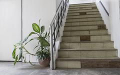 old stair - stock photo