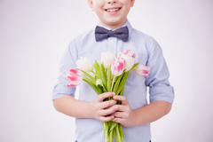 Little gentleman - stock photo