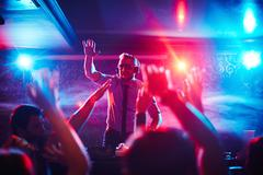 Stock Photo of Party in the club