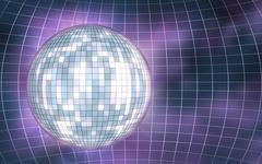 Disco ball abstract background Stock Illustration