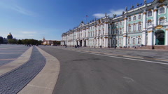 The Hermitage in St. Petersburg Stock Footage