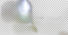 4K Light Leak 42 (With Alpha) Stock Footage
