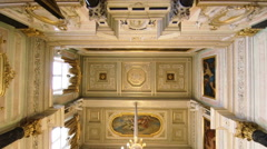 The magnificent ceiling Hermitage. Stock Footage