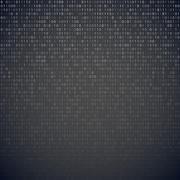 Binary code - stock illustration