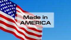 Made in America - stock footage