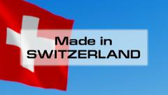 Made in Switzerland - stock footage
