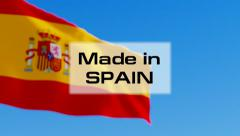 Made in Spain Stock Footage