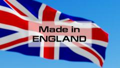 Made in England Stock Footage