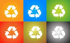 Recycle Logo Stock Illustration