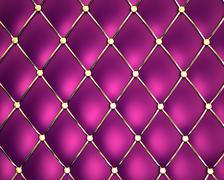 Violet genuine leather pattern background - stock illustration
