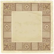 Blueprint - hand draw sketch doric architectural order Stock Illustration