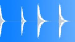 Robot Body Impacts x 2 Sound Effect