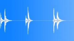 Large Safe Unlocking x 3 - sound effect