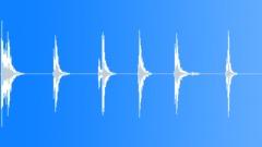Large Safe Unlocking x 6 Sound Effect