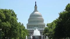 Captiol Washington DC - stock footage