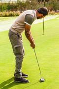 Golf precision Stock Photos