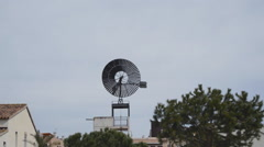 Town Windmill - stock footage