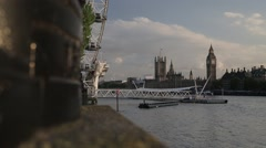 Big Ben/Elizabeth Tower, London   HD 1080 - stock footage