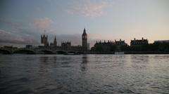 Big Ben/Elizabeth Tower, London | HD 1080 - stock footage