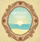 Summer Time! Stock Illustration