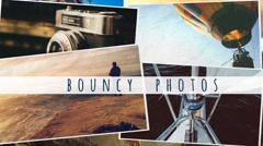 Bouncy Photos - stock after effects