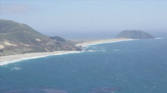 Point Sur on US 1 Cabrillo Highway  Stock Footage