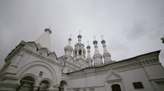 The Russian Orthodox Church in Moscow. Stock Footage